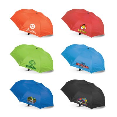 107940 Avon Compact Promotional Corporate Umbrellas With Metal Shaft & Ribs