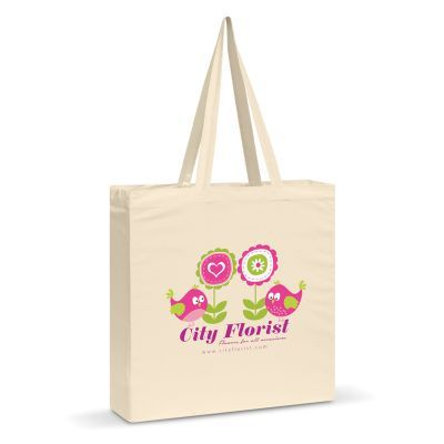 109072 Carnaby Shoulder Branded Calico Bags - (38cm x 42cm x 9cm)