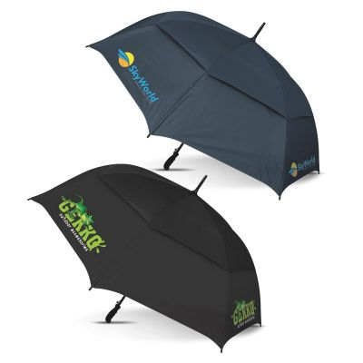 109136 Trident Custom Corporate Umbrellas With Fibreglass Shaft & Ribs