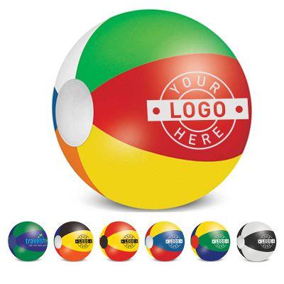 110552 60cm Six Panel Printed Beach Balls
