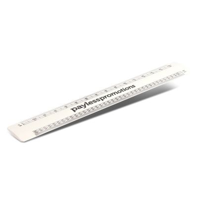 110787 30cm Scale Plastic Promotional Rulers
