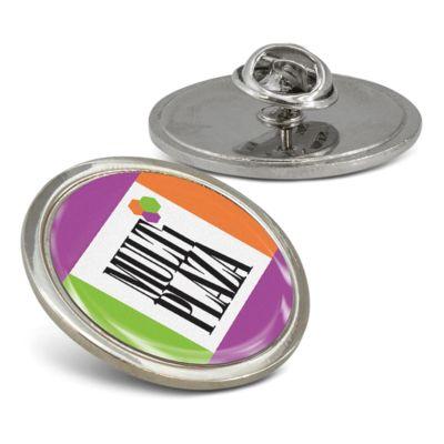 110909 29mm Altura Metal Round Custom Lapel Pins