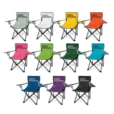 111276 Memphis Folding Promo Folding Chairs With Up To 120kg Capacity