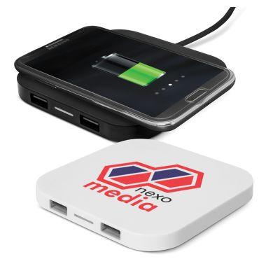 112657 Impulse Wireless Charging Promo USB Hubs