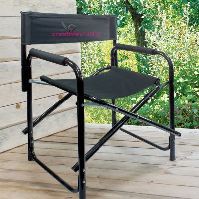 113244 Directors Promotional Folding Chairs With Upto 120kg Capacity