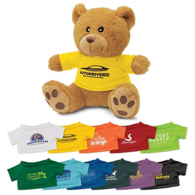 114175 Teddy Bear Printed Stuffed Toys With T-Shirts