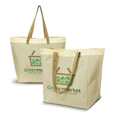 114199 Market Branded Canvas Tote Bags - (37cm x 42cm x 20cm)