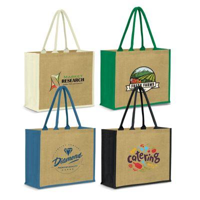 115000 Modena Promotional Jute Bags - (45cm x 38cm x 16cm)