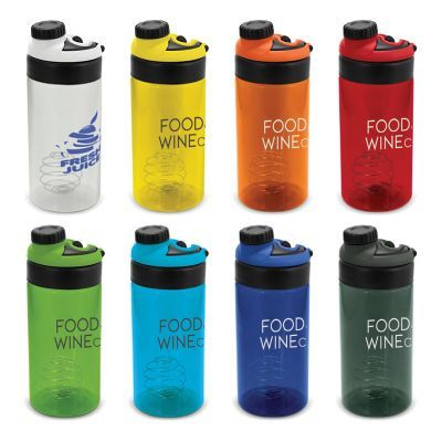 115297 600ml Olympus Printed Protein Shakers With Mixing Ball