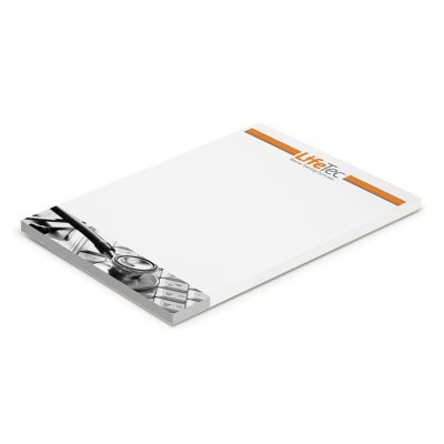 115823 A6 Excel Promotional Notepads - 50 Pages