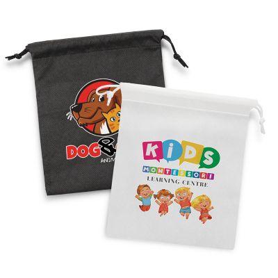118217 Medium Drawstring Advertising Gift Bags