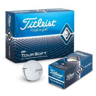 118395 Titleist Tour Soft Logo Golf Balls