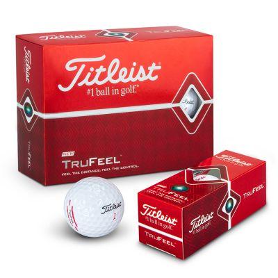 118397 Titleist Tru Feel Printed Golf Balls