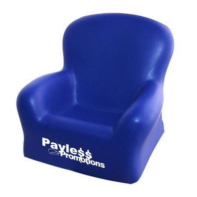 S99 Chair Blue Branded Household Stress Balls