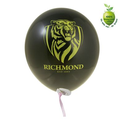 30STDR 30cm Branded Balloons With Ribbon And Clip