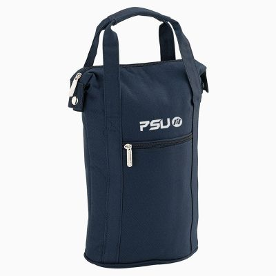 B141C Two Bottle Wine Insulated Promotional Cooler Bags