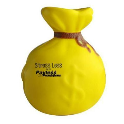 S141 Money Bag Promotional Finance Stress Balls