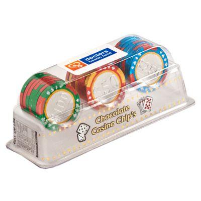 CC012E Promo Chocolate Poker Chip Set