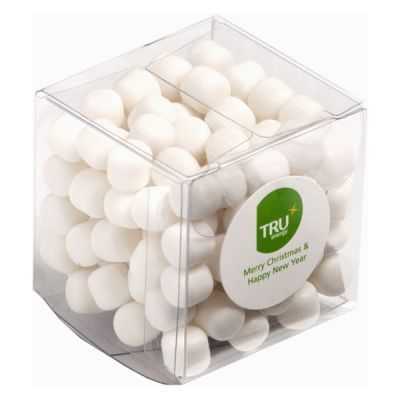 CC013C Chewy Mint Filled Soft Branded Cubes - 60g
