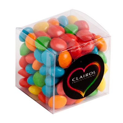 CC013K Skittles Look-Alike Filled Soft Branded Cubes - 110g