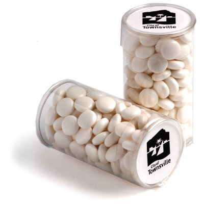 CC014C Chewy Mint Filled Branded Tubes - 100g