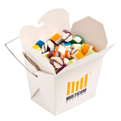 CC042G Rock Candy Filled White Branded Noodle Boxes -100