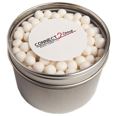 CC049B3 Chewy Mint Filled Window-Top Tins - 150g