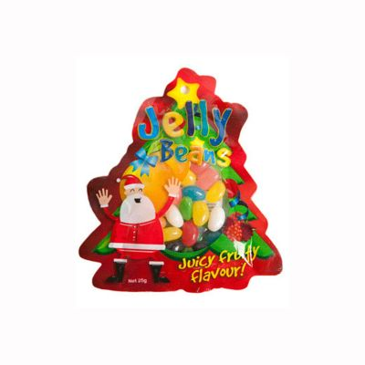 CC053D M&Ms Filled Custom Shaped Branded Lolly Bags - 25g Or 50g