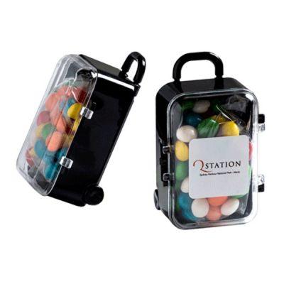 CC070E Skittles Look-Alike Filled Promo Mini Suitcases - 50g