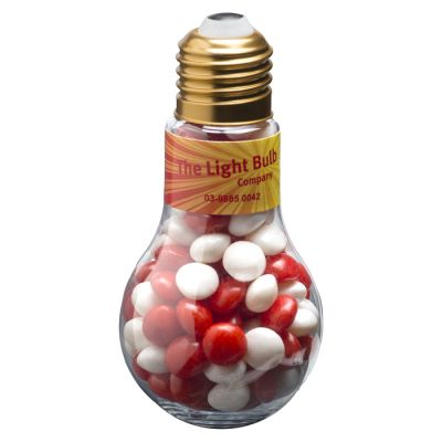 CC074E Skittles Look-Alike Filled Branded Light Globes - 100g