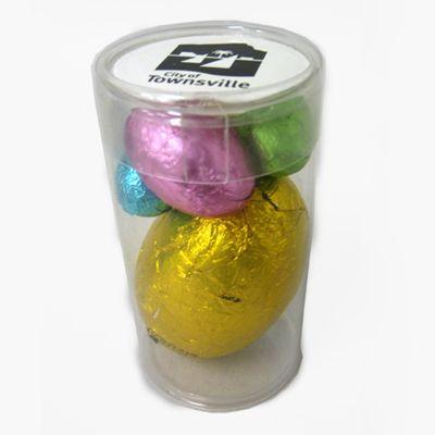 CCE012B Easter Egg Filled Promo Tubes - 1 x 17g & 3 Mini