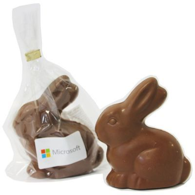 CCE028 Milk Bunny Corporate Easter Eggs - 80g