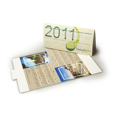 CL105 140mm x 110mm Custom Desk Calendars