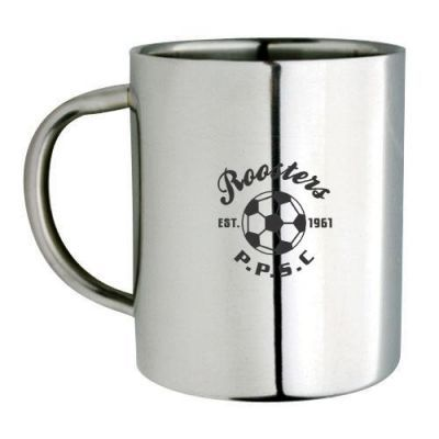 M19 Double Wall Personalised Stainless Coffee Mugs
