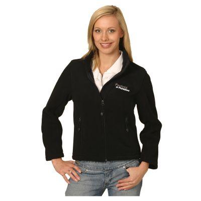 PF08 Ladies Deluxe Bonded Custom Fleece Jackets