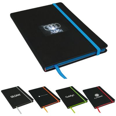 D422 Edge A5 Journal Advertising Notepads With 80 Lined Pages