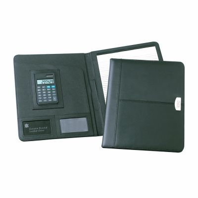 D882 Essex A4 Bonded Promotional Leather Business Compendiums