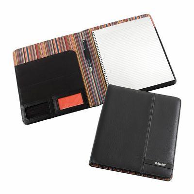 D993 Madrid A4 Pad Folio Promotional Synthetic Compendiums