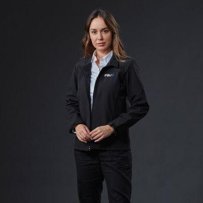 J802-W Ladies Windbreaker Printed Softshell Jackets