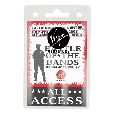 K504 Access Promotional Plastic ID Holders