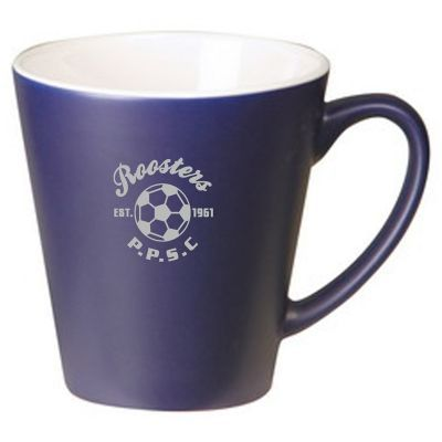 MG39C 350ml Coloured Vista Logo Coffee Mugs