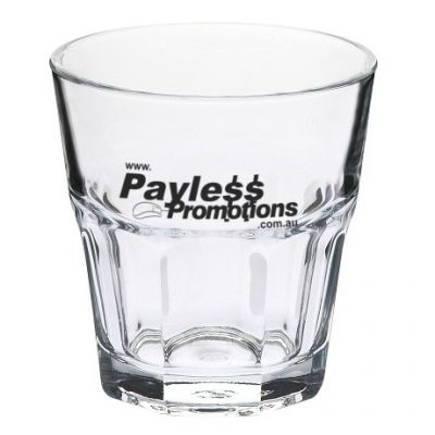 GLT752862 207ml Casablanca Rock Old Fashioned Branded Tumblers