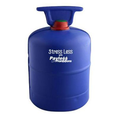 S120 Gas Bottle Personalised Household Stress Balls