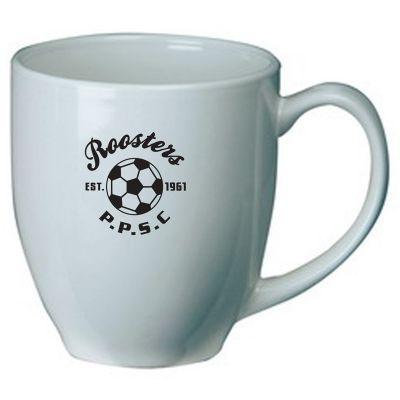 MGJC2154W 290ml White Broadway Custom Coffee Mugs