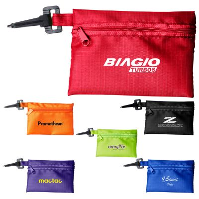 RB1029 Zippered Tech Kit Pouch