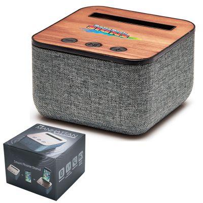 T614 Manhattan Custom Wireless Speakers With Smartphone Holder