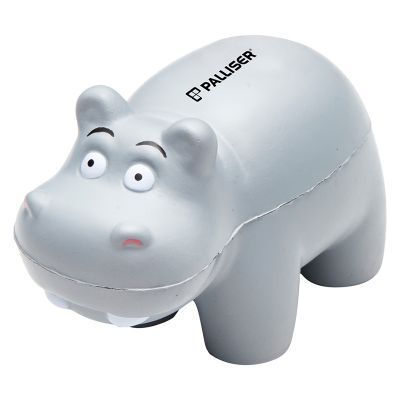 T768 Hippo Shaped Promotional Animal Stress Shapes