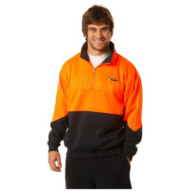 SW13A Collared Logo Hi Vis Windcheaters