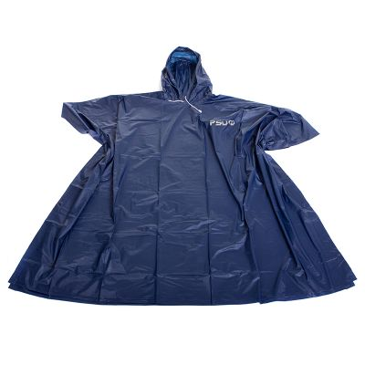 WPO1 EVA Logo Ponchos With Adjustable Draw Cord