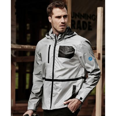 ZJ380 Streetworx Reflective Waterproof Personalised Hi Vis Jackets